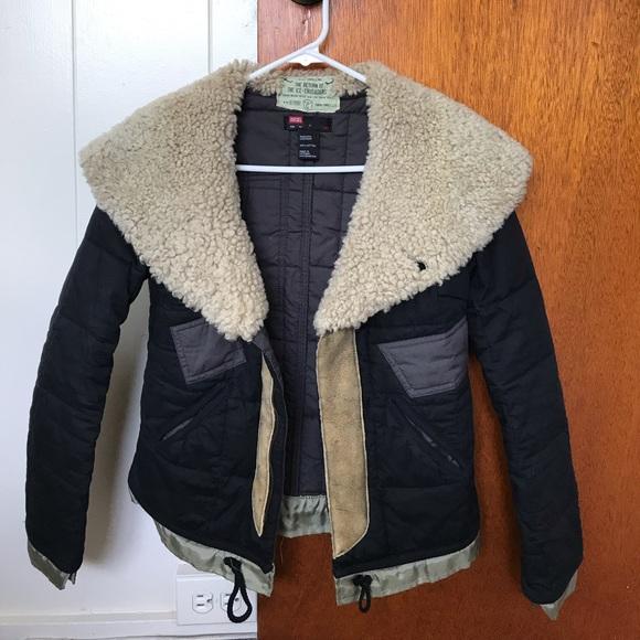 aef39f4fb39 Diesel Jackets & Coats | Winter Jacket | Poshmark